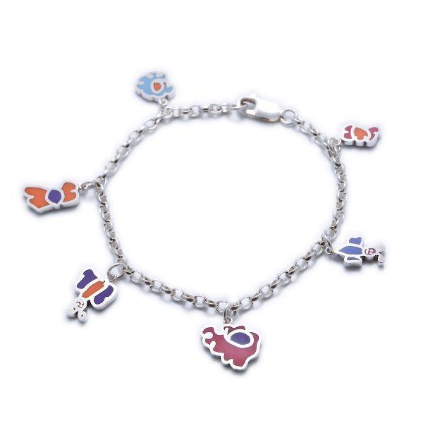 charm_bracelet_01_silverdoodle_silver_resin_childrens_art_jewellery